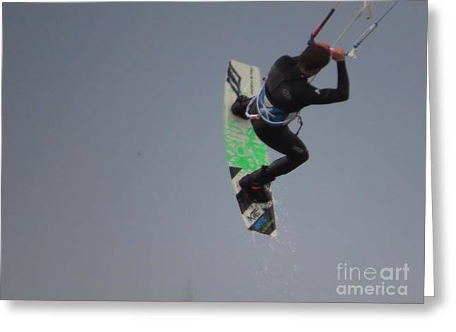 Para Surfing Greeting Cards - Parasurfer7 Greeting Card by Rrrose Pix