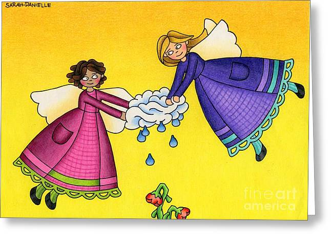 Uplifting Drawings Greeting Cards - Parched Greeting Card by Sarah Batalka