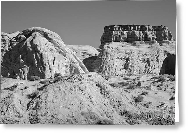 Paria Utah VI Greeting Card by Dave Gordon