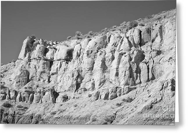 Paria Utah Xi Greeting Card by Dave Gordon