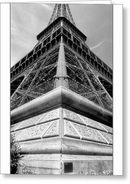 Eiffelturm Greeting Cards - Paris - La Tour Eiffel Greeting Card by ARTSHOT - Photographic Art