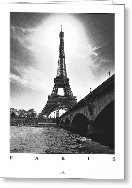 Bauwerk Greeting Cards - Paris - Pont dlena Greeting Card by ARTSHOT - Photographic Art