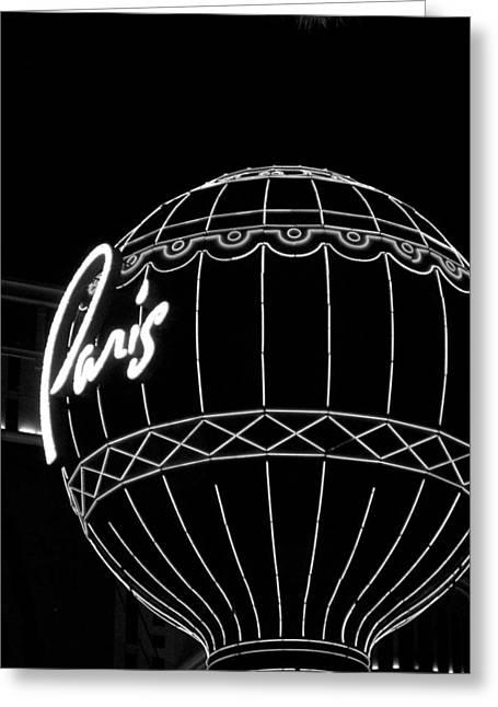 Viva Las Vegas Greeting Cards - Paris 1 Greeting Card by Brandon Addis