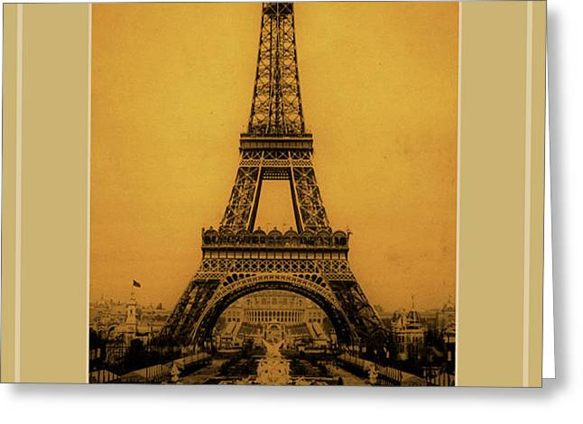 Paris 1889  Greeting Card by Andrew Fare