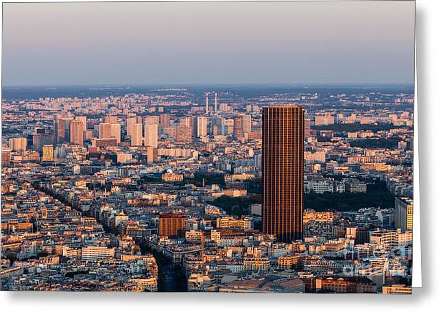 Grenelle Greeting Cards - Paris- aerial view Greeting Card by Radu Razvan