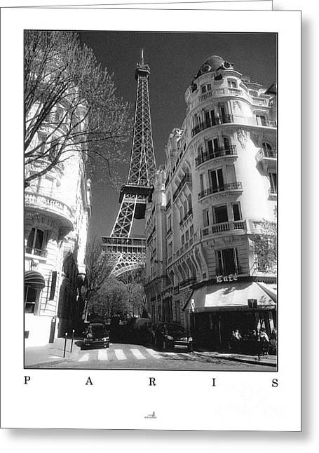 Paris Greeting Card by ARTSHOT - Photographic Art