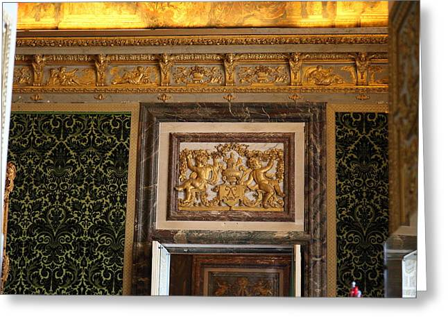 Versailles Greeting Cards - Paris France - 011325 Greeting Card by DC Photographer