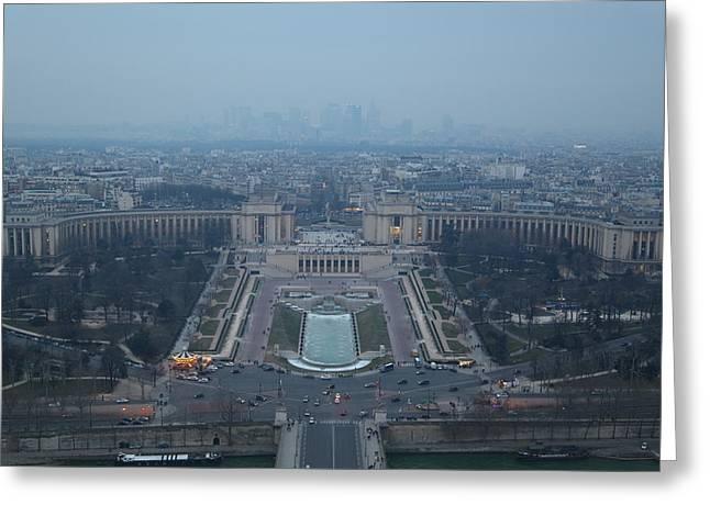 Eifel-turm Greeting Cards - Paris France - Eiffel Tower - 011315 Greeting Card by DC Photographer