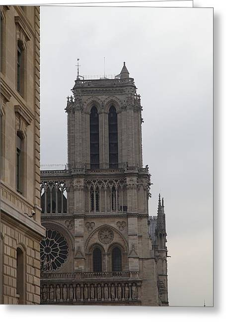 Christian Greeting Cards - Paris France - Notre Dame de Paris - 01132 Greeting Card by DC Photographer