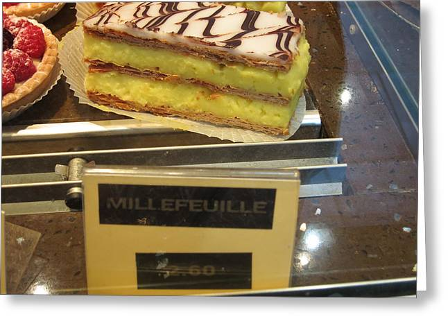 Paris France - Pastries - 121265 Greeting Card by DC Photographer