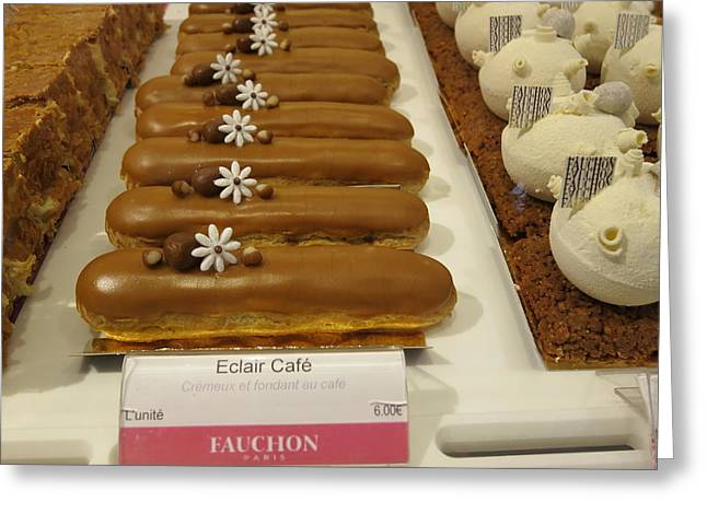 Paris France - Pastries - 121279 Greeting Card by DC Photographer