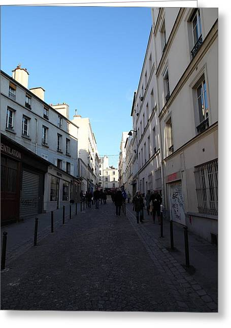 Franch Greeting Cards - Paris France - Street Scenes - 01131 Greeting Card by DC Photographer