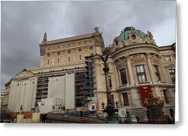 Franch Greeting Cards - Paris France - Street Scenes - 0113109 Greeting Card by DC Photographer