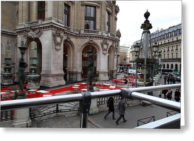 Franch Greeting Cards - Paris France - Street Scenes - 0113115 Greeting Card by DC Photographer