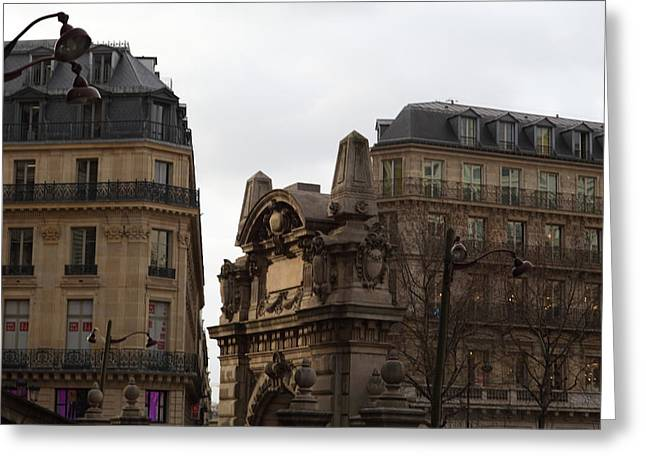 Chairs Greeting Cards - Paris France - Street Scenes - 0113119 Greeting Card by DC Photographer