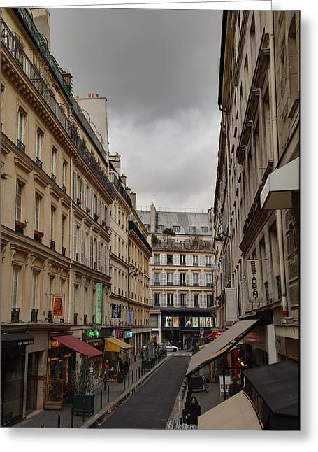 Paris France - Street Scenes - 0113124 Greeting Card by DC Photographer