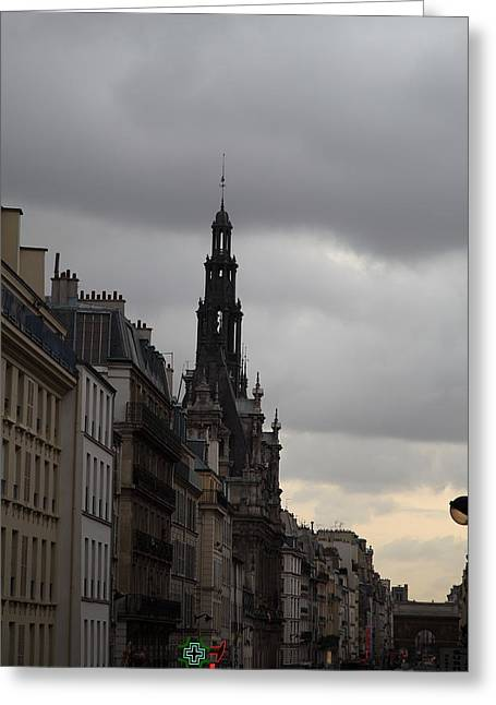 Franch Greeting Cards - Paris France - Street Scenes - 0113144 Greeting Card by DC Photographer
