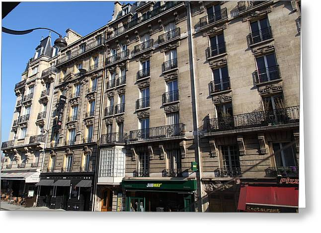 Restaurant Greeting Cards - Paris France - Street Scenes - 011321 Greeting Card by DC Photographer