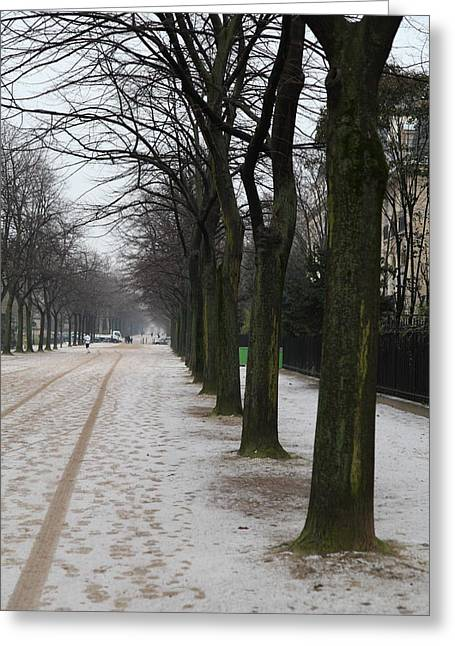 Franch Greeting Cards - Paris France - Street Scenes - 011326 Greeting Card by DC Photographer