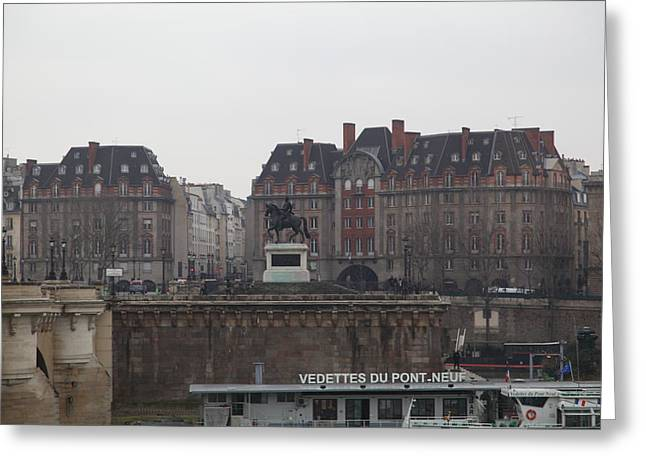 Chair Greeting Cards - Paris France - Street Scenes - 011344 Greeting Card by DC Photographer