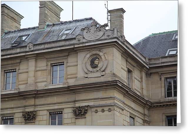 Franch Greeting Cards - Paris France - Street Scenes - 011358 Greeting Card by DC Photographer