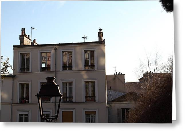 Day Greeting Cards - Paris France - Street Scenes - 01137 Greeting Card by DC Photographer