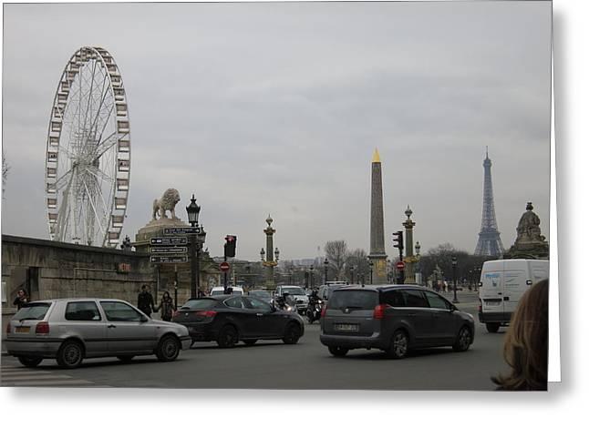 Photography Photographs Greeting Cards - Paris France - Street Scenes - 121245 Greeting Card by DC Photographer