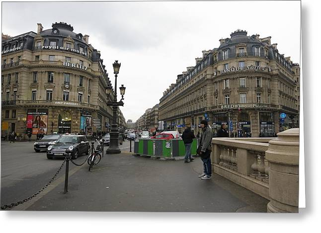People Greeting Cards - Paris France - Street Scenes - 121247 Greeting Card by DC Photographer