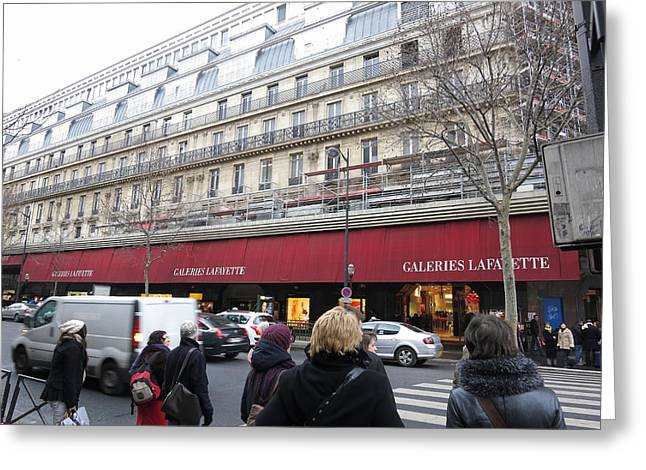 Restaurant Greeting Cards - Paris France - Street Scenes - 121259 Greeting Card by DC Photographer