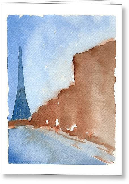 Md Paintings Greeting Cards - Paris In Silver Spring - Three Greeting Card by Meagan Healy