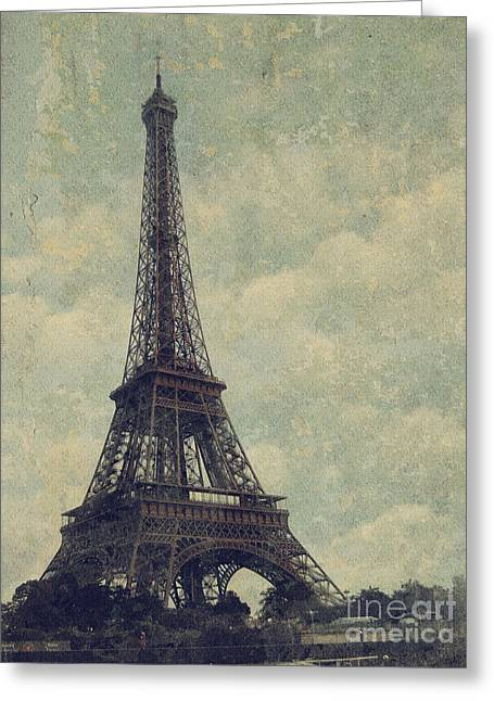 European Pyrography Greeting Cards - Paris Greeting Card by Jelena Jovanovic