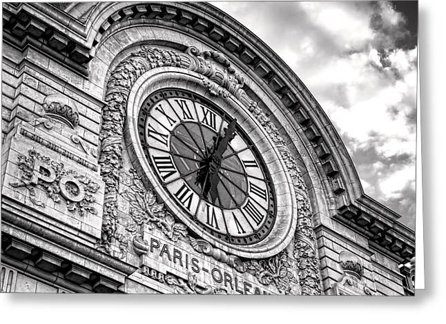 Paris Orleans Greeting Card by Olivier Le Queinec
