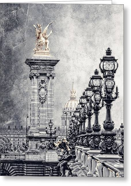 Paris Pompous 2 Greeting Card by Joachim G Pinkawa