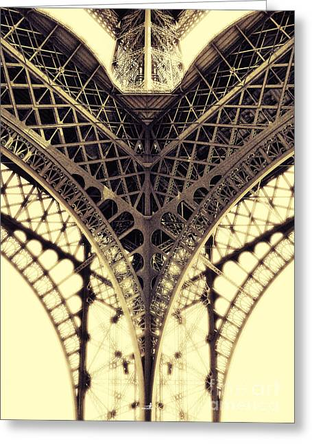 Paris Steel Greeting Card by ARTSHOT - Photographic Art