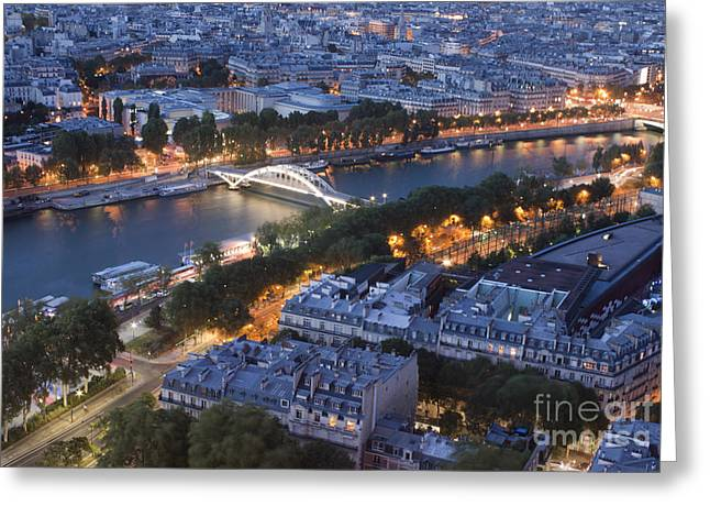 Paris View Greeting Card by Ivete Basso Photography
