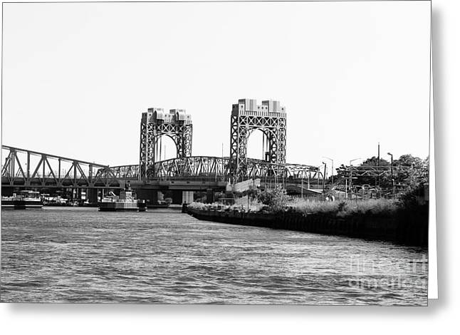Swing Span Greeting Cards - Park Avenue Bridge New York City Greeting Card by Robert Yaeger