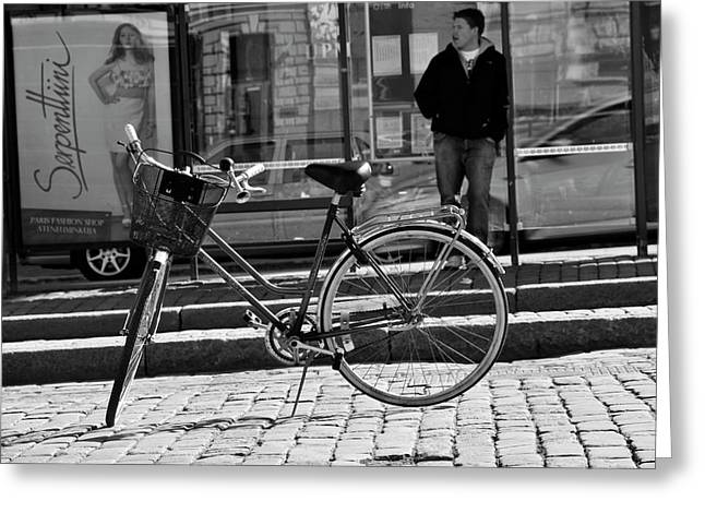 Frederico Borges Photographs Greeting Cards - Parked Greeting Card by Frederico Borges