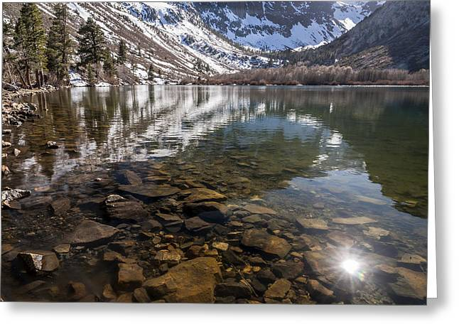 California Lakes Greeting Cards - Parker Lake in the Spring Greeting Card by Cat Connor