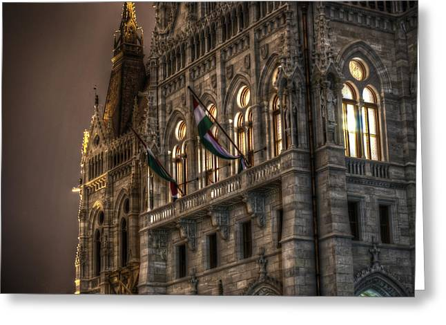 Europe Greeting Cards - Parliament nights Greeting Card by Nathan Wright