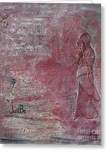 I Love U Forever Greeting Cards - Part Of Me Greeting Card by Haleh Dehlavi