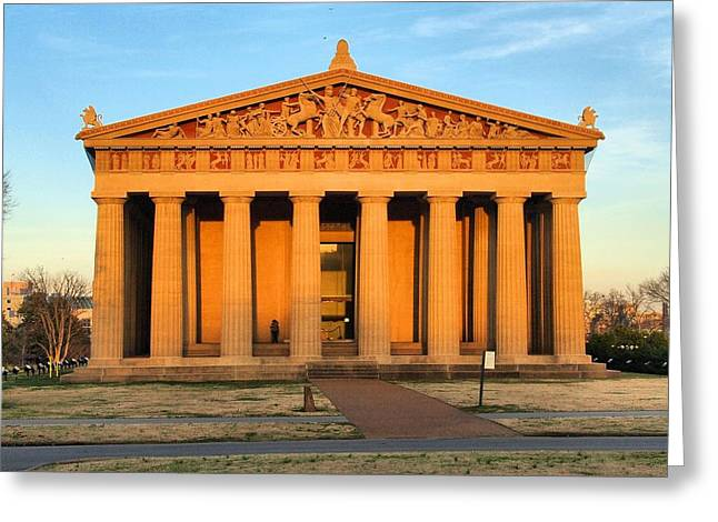 Parthenon Greeting Cards - Parthenon Greeting Card by Dan Sproul