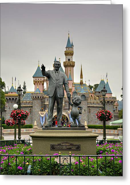 Anaheim California Greeting Cards - Partners Greeting Card by Ricky Barnard