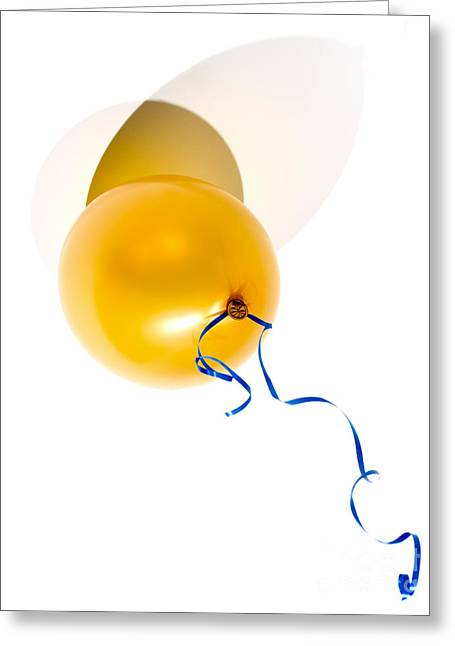 Helium Greeting Cards - Party baloon Greeting Card by Sinisa Botas