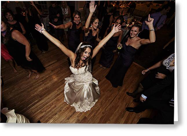 Dance Photographs Greeting Cards - Party Greeting Card by Rick Berk