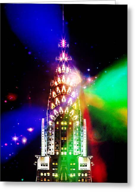 Artistic Digital Art Greeting Cards - Party Time Greeting Card by Az Jackson