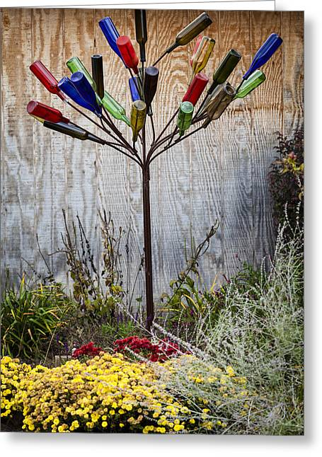 Hanging Wine Glasses Greeting Cards - Party tree Greeting Card by Alexey Stiop