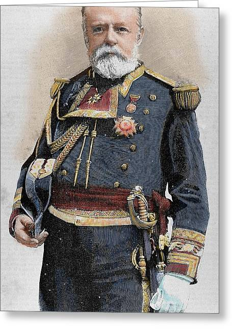 Pascual Cervera (1839-1909 Greeting Card by Prisma Archivo