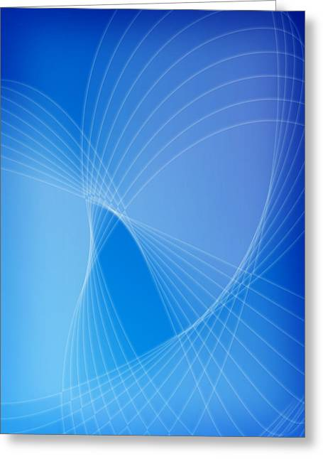Geometric Effect Greeting Cards - Passage Greeting Card by GP Images