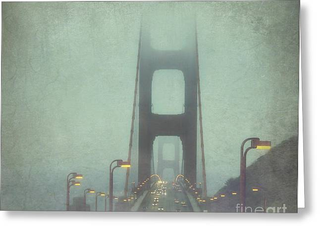 Bridge Greeting Cards - Passage Greeting Card by Jennifer Ramirez