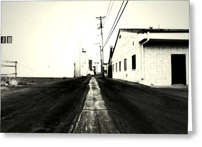 Backstreets Greeting Cards - Passage Greeting Card by Mark Ross